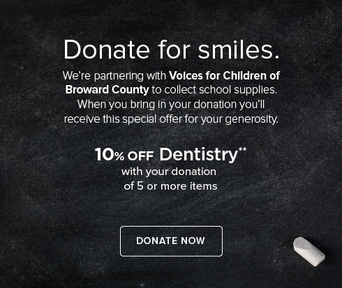 Weston Modern Dentistry - Donate to Voices for Children  of Broward County